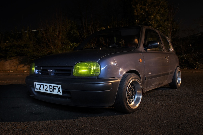 Been practicing a bit of car photography. My brothers k11 micra