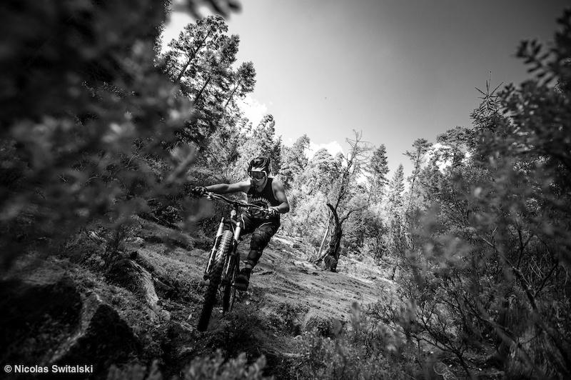 Riding Nevado de Toluca
