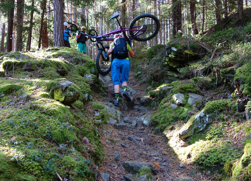 South Tyrol Mountainbiking - Dolomites and the Italian Alps