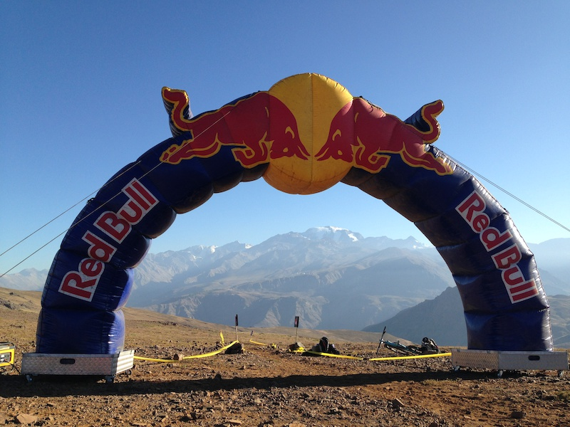 Start Line Day two of the Andes Pacifico