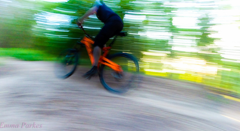 taken on the gopro on  an afternoon ride, panning action to give a sense of motion.