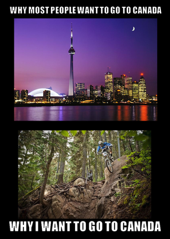 True story why you want to go to Canada.