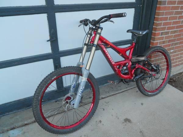 2007 Specialized Demo 8 Downhill Mountain Bike For Sale