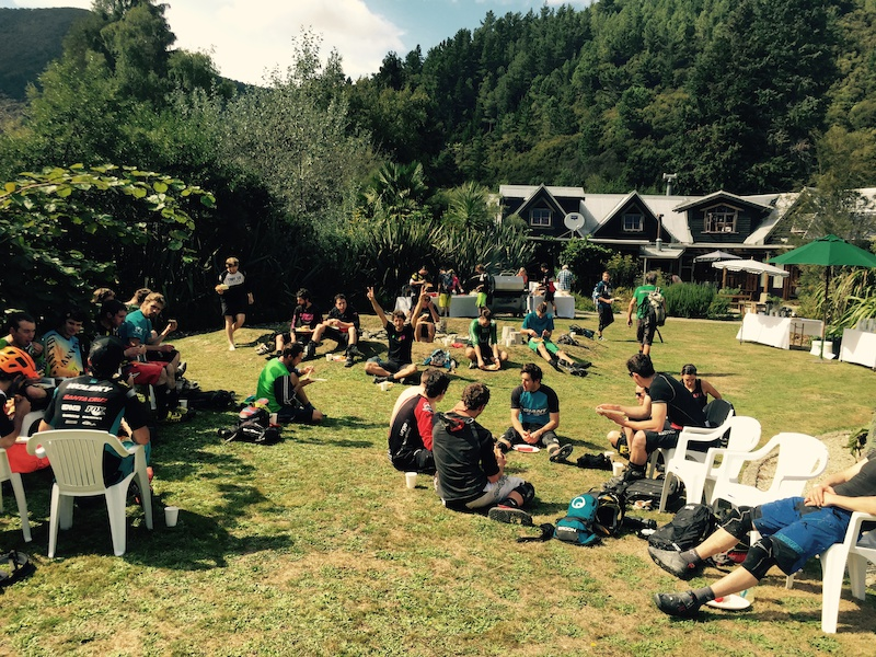 NZ Enduro Day Two Lunch