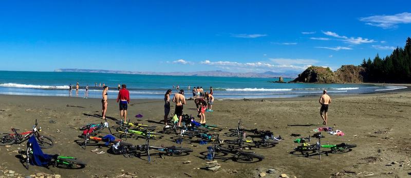 Whites Bay Day 1 NZ Enduro