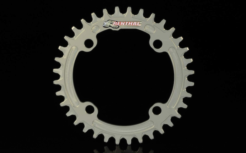 32t 104mm BCD Gold Renthal 1XR Chainring