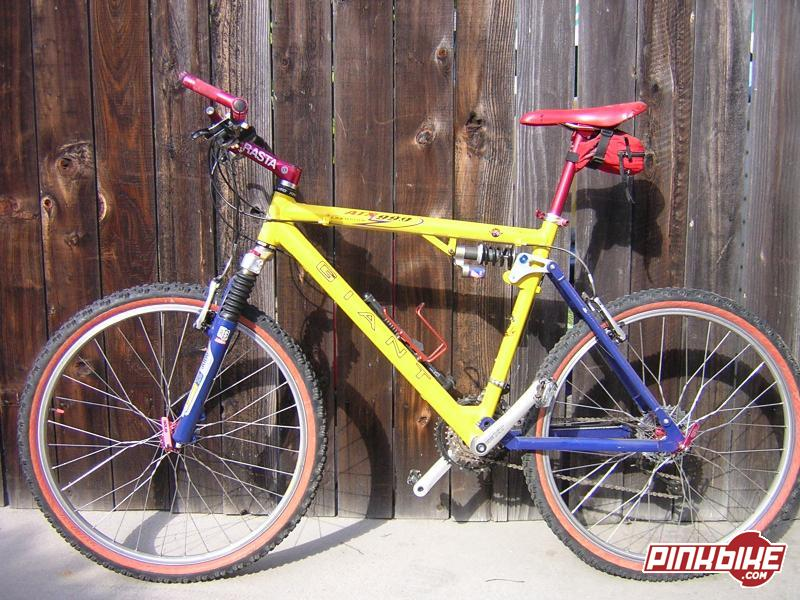 Giant Atx990 John Tomac Edition 20 Quot Yellow For Sale