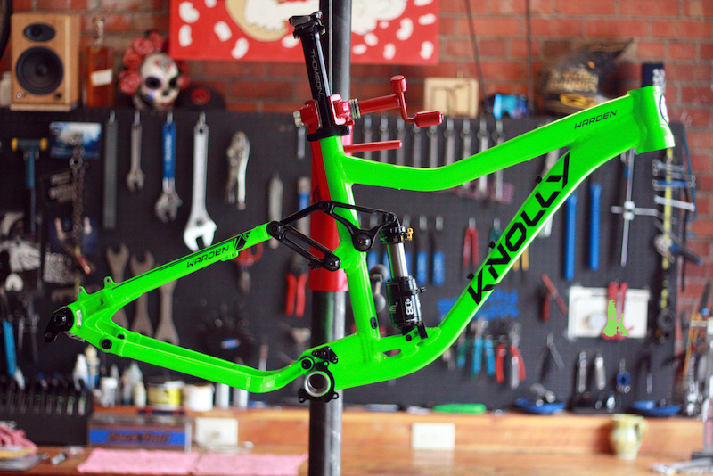 The Knolly Warden Frame we re giving away to a lucky 2015 MES competitor