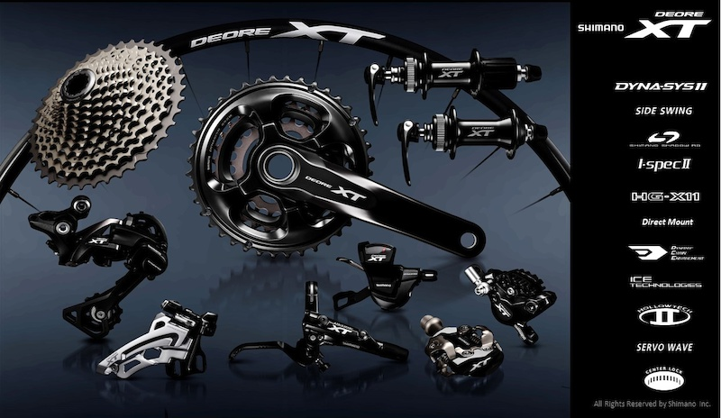 First Look: Shimano's New Deore XT Group