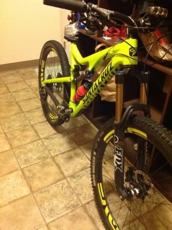 2014 Large Bronson with ENVE wheels