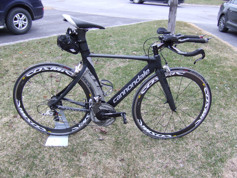 2011 Cannondale Slice Hi Mod Size 52 With Power Meter