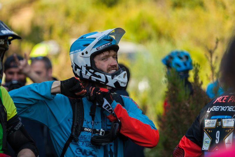 Max Schumann during the competition of the European Enduro Series in Punta Ala on April 26 2015. Free image for editorial usage only Photo by Antonio Lopez Ordonez