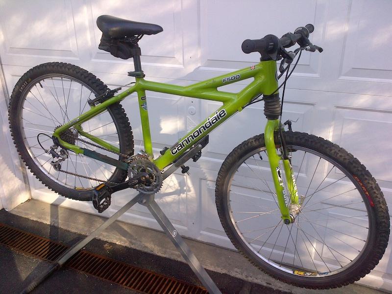 5c225554e66 1999 Cannondale F500 Hardtail Mountain Bike For Sale