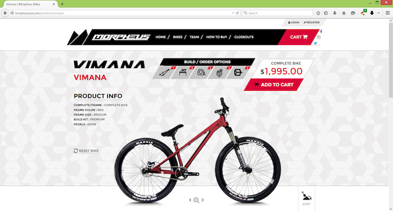 Morpheus Bikes Go Consumer Direct Pinkbike