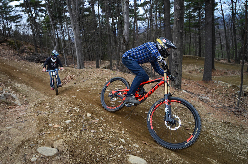 Getting to grips with the tacky early season dirt