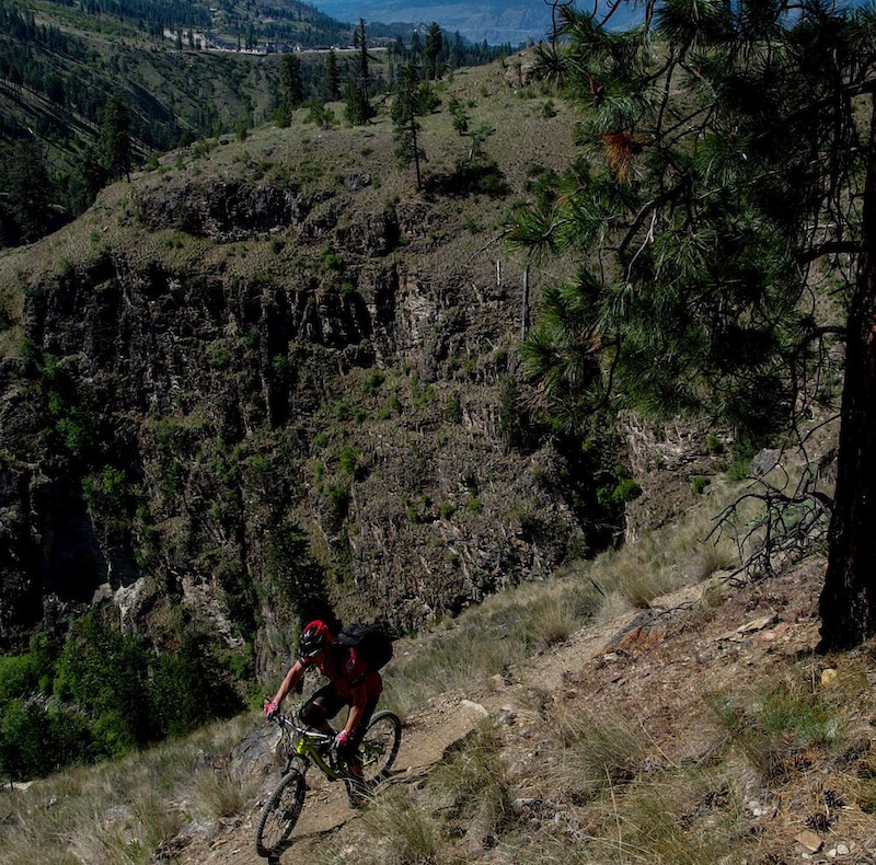 Research for the Locals Guide to Okanagan Rides Johnny S photo