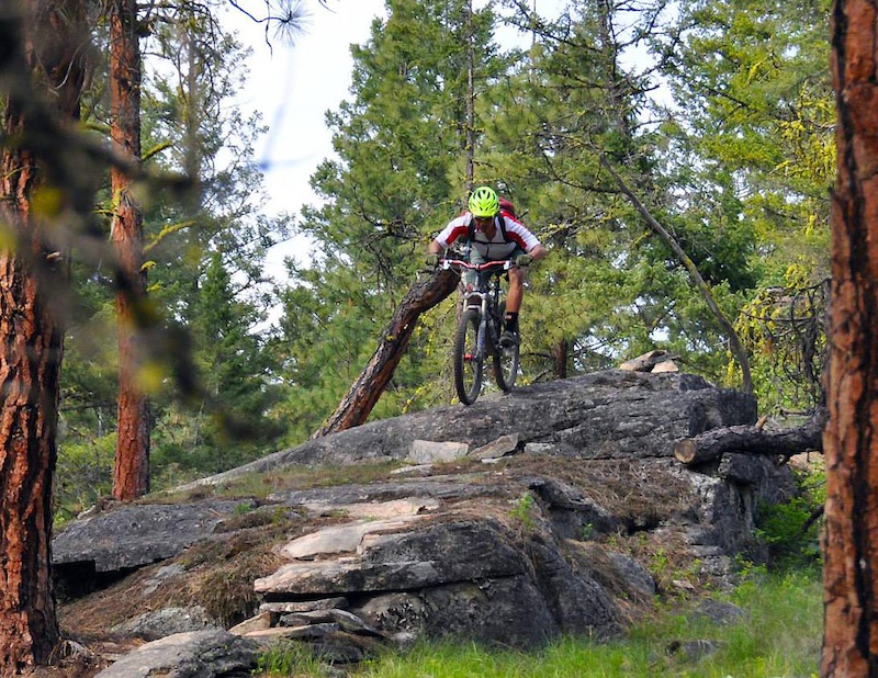 Research for the Locals Guide to Okanagan Rides Photo Rich V