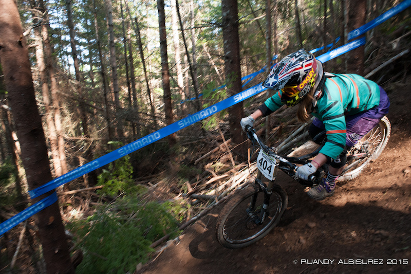 Images from NW Cup 2 Ladies were out in full force laying into the berms just as hard as the guys were. These berms are all about equal opportunity. All rights reserved on images. Do not use without permission.