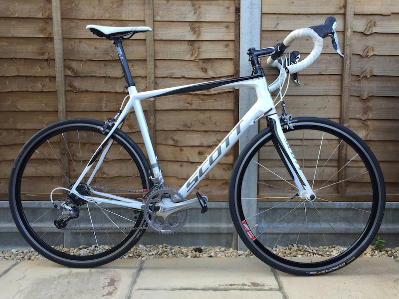 b494c19689a 2012 Scott CR1 Team Carbon Road Bike 58cm For Sale