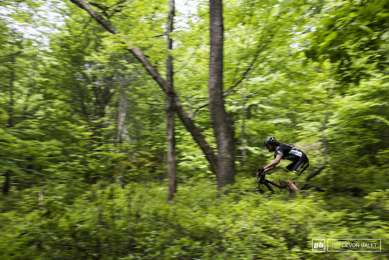 High speeds deep forests and rocks is the theme for the TSE Enduro.