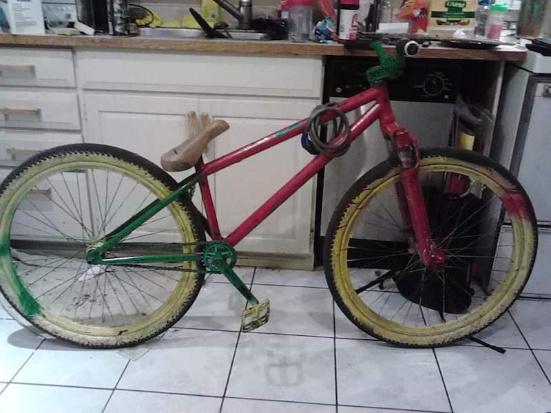 So stolen bike was retrieved...