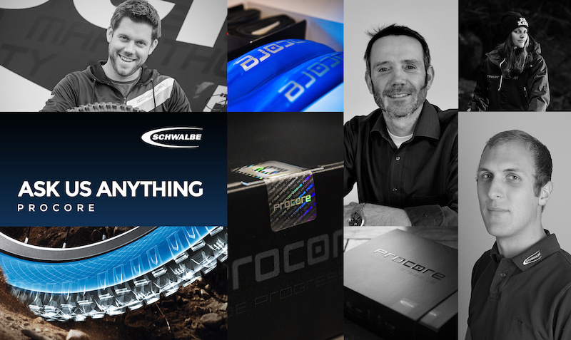 Finished: Ask Us Anything - Schwalbe, Procore - Pinkbike