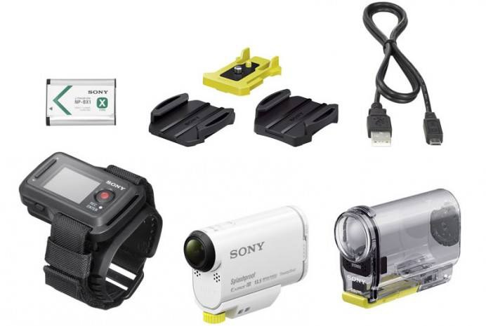 0 Sony action cam as100v