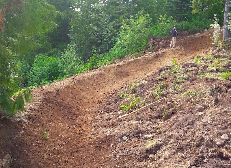 Superberm received lots of attention this spring in the bottom sections. There is more to come in the future. photo Brad Allen