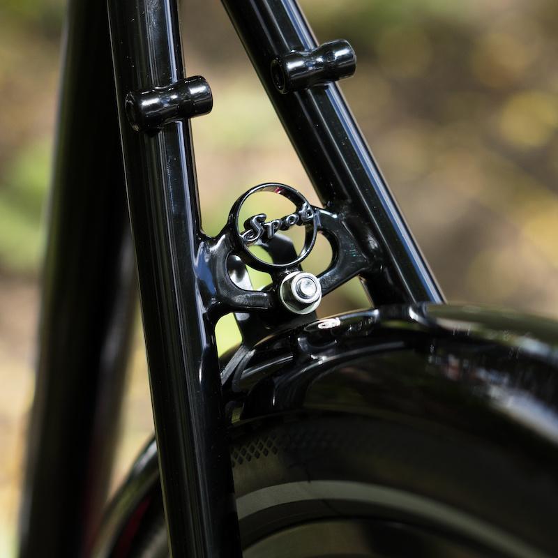 Custom Spot Brand frame donated to Brews for Bikes.