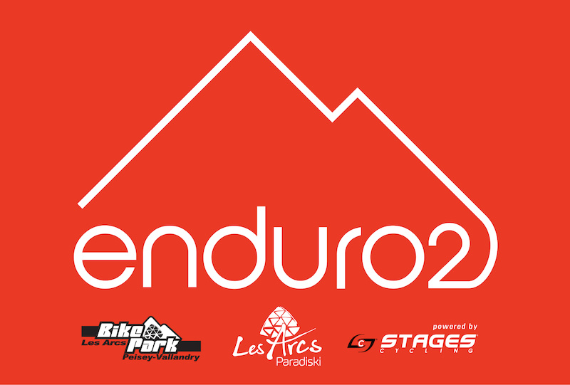 Les Arcs Enduro2 powered by Stages Cycling. Alpine Enduro racing in teams of two.