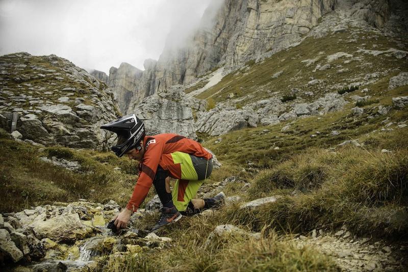Wish Enduro vs Wish Bikepark - landscape adventure in Dolomites