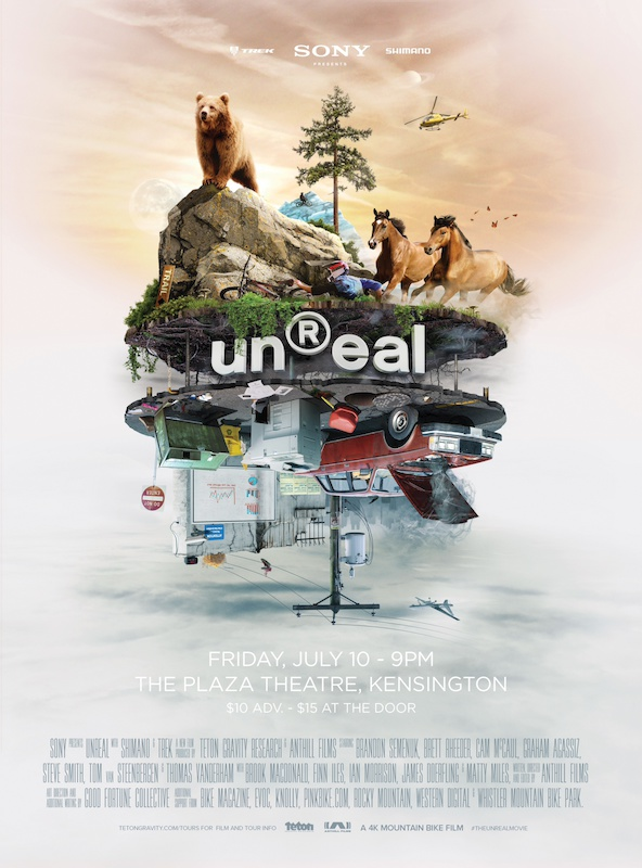 Calgary unReal premier Friday July 10th 9pm The Plaza Theater Kensignton
