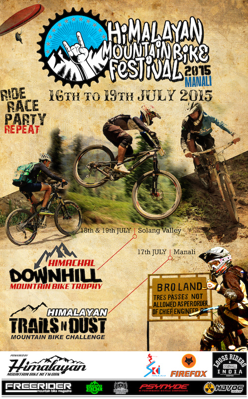 Himalayan Mountain Bike Festival 2015 powered by Himalayan Mountain Bike Network - www.himalayanmtb.com