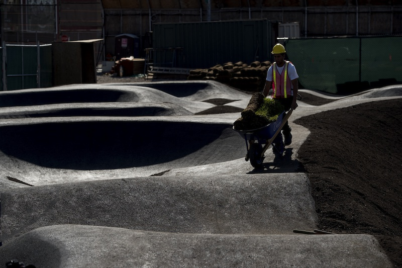 New York Gets First Asphalt Pump Track in North America