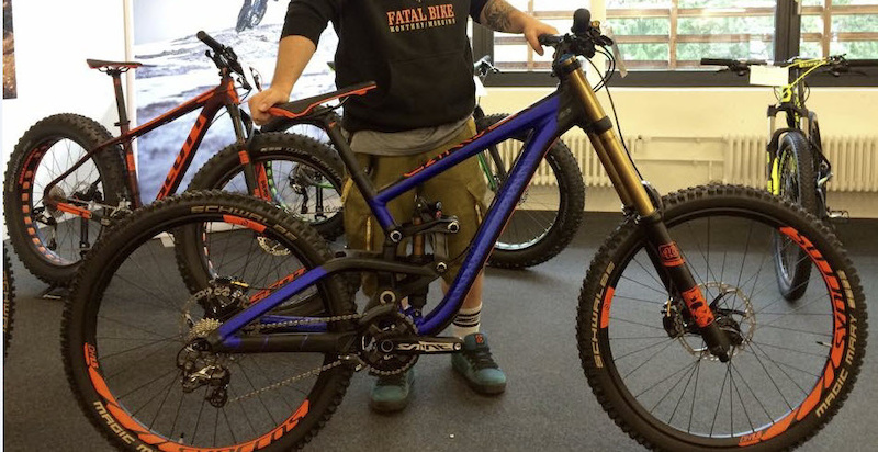 Possibly the new 2016 Scott Gambler.