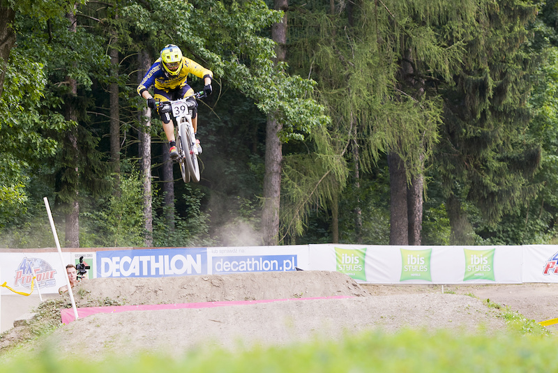 during round 3 of The 4X Pro Tour at Sunny Meadows Szczawno-Zdroj Poland 18July 2015 Photo Charles Robertson