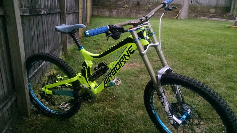 2014 Airborne Pathogen DH downhill bike package, extras included For ...