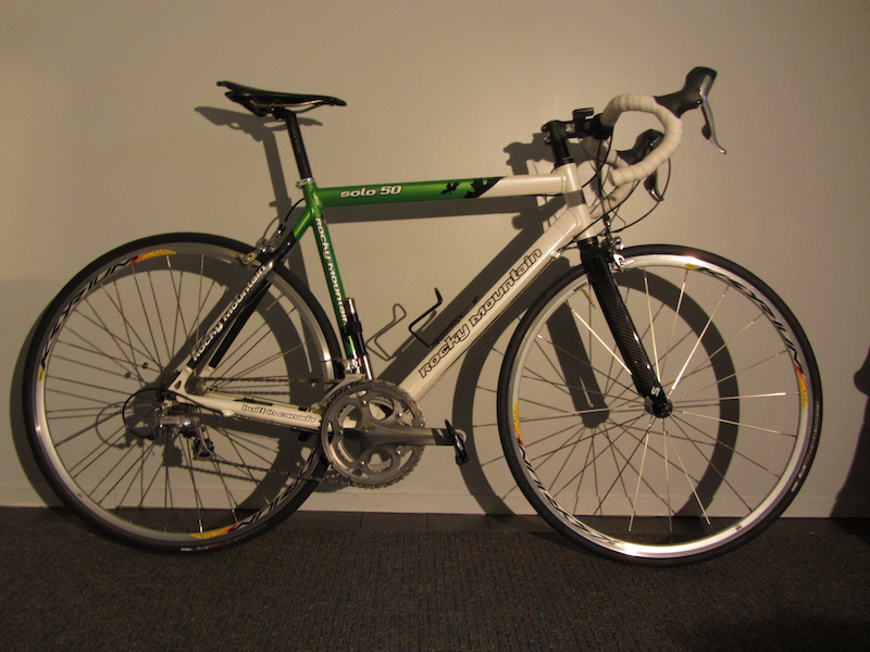 Cateye Bike Computer >> 2009 Rocky Mountain Solo Road Bike (Made in Canada) For Sale