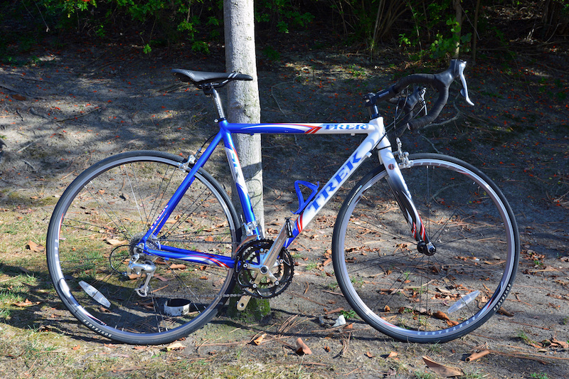 2004 Red White And Blue Trek 1500 Slr Tour De France
