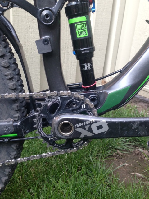 2015 Giant Trance Advanced 1 with upgrades