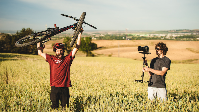 Shot during the filming of Enduro 100 Biker iago Garay by Pablo Yarnoz