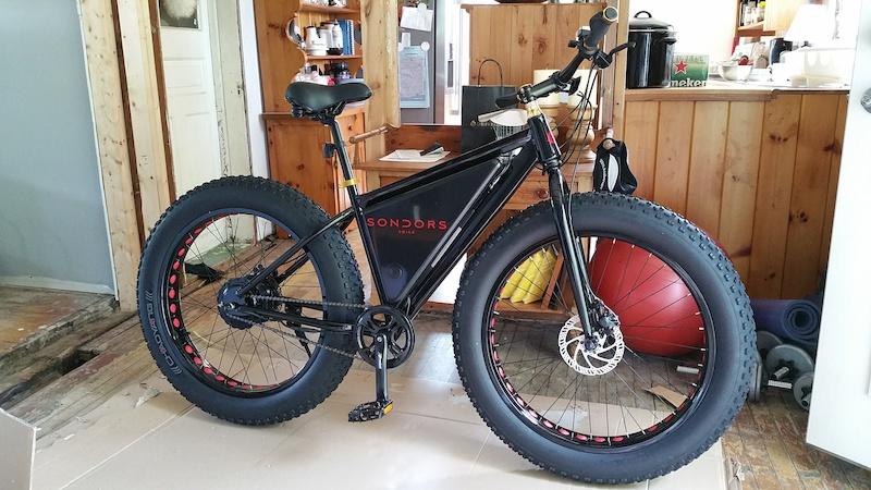 2015 Sondors Fat E Bike For Sale
