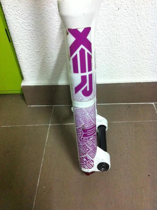 2012 Rock Shox Boxxer Team White
