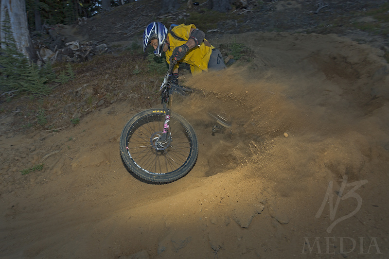 Mount Bachelor Gravity Series, Race #3, The most blown out corner I could find.
