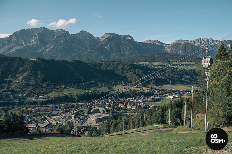 The view on Schladming
