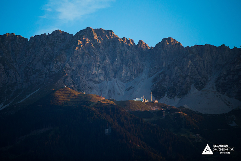 The Seegrube set high above the city with some proper alpine setting behind it is a small but technical skiing area in winter. Destination for countless tourists in summer it also has one of the most demanding downhill tracks in Europe.