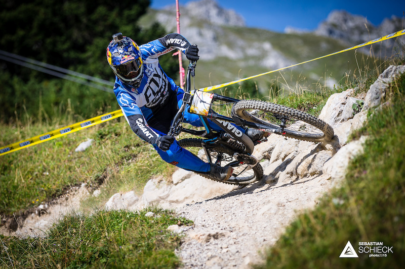 Last years winner Marcelo Gutierrez of Colombia set out to repeat his success. Being known for his physical fitness as demonstrated with his win of the Whistler Garbanzo Downhill put him right at the top of the list of favorites.