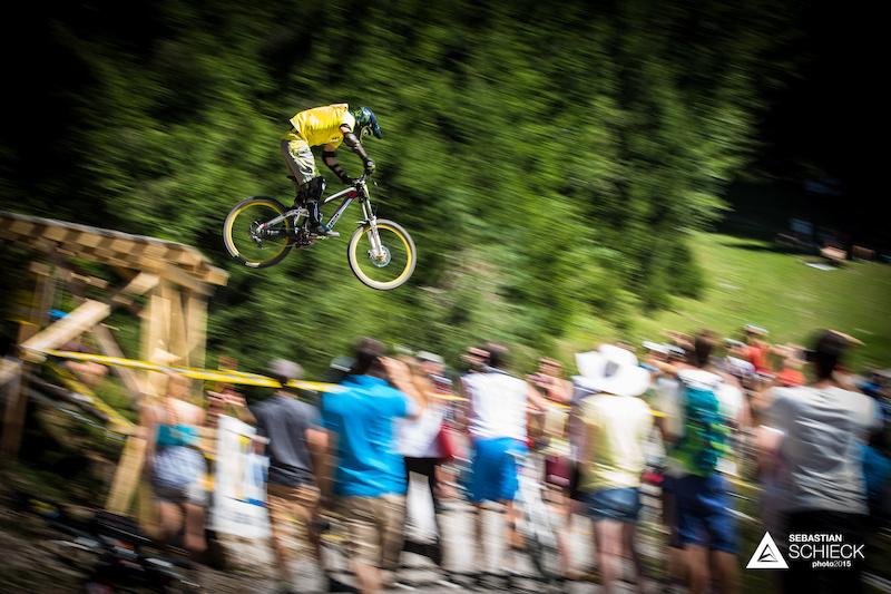 One of the crowds favorite spots the roadgap always attracts quite a few spectators. Here Christoph MATZKE GER shows how it s done.