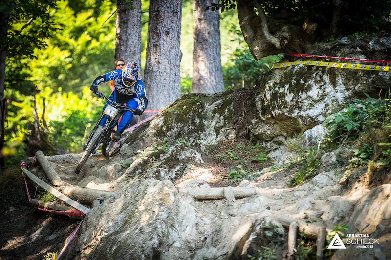Marcelo GUTIERRES COL lived up to his number plate and repeated his win. With a time of 9 45.88 and a 20 s margin on Wyn he went outside Sam Hill s record time of 9 21. But with the track having changed completely the time looks more and more out of reach.