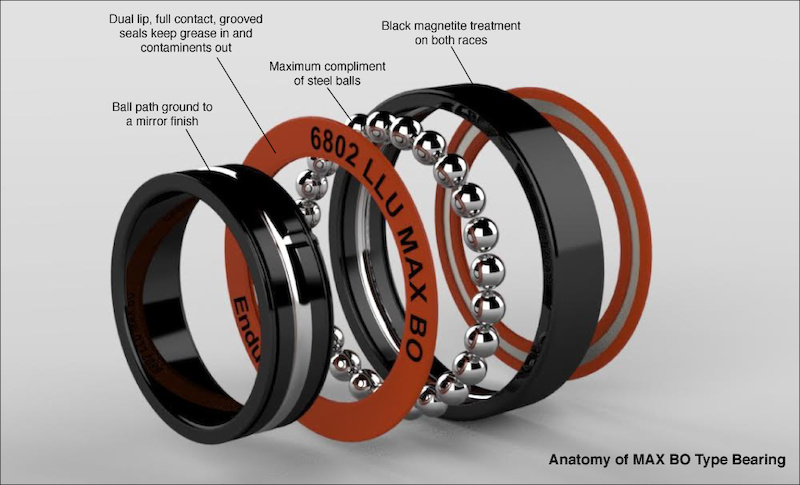 Enduro Max bearing